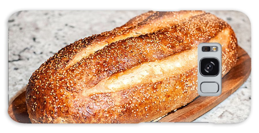 Bread Galaxy S8 Case featuring the photograph Artisan Bread by Andy Crawford