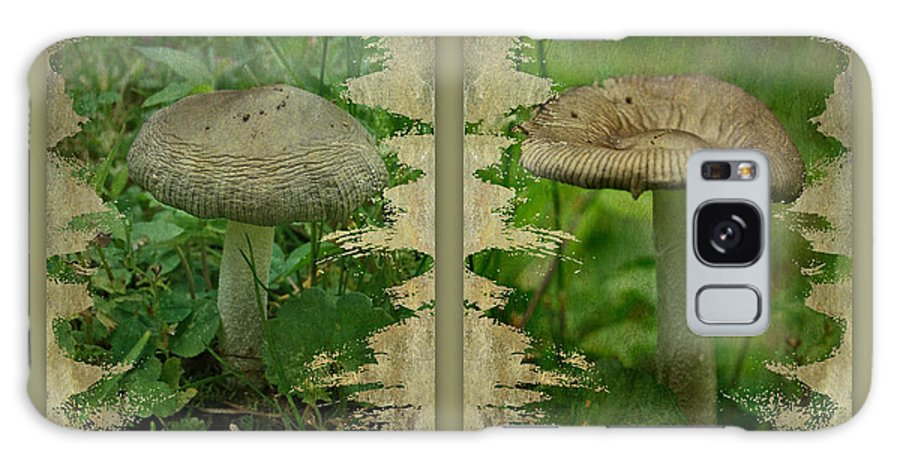 Mushroom Galaxy S8 Case featuring the photograph As I Age - A Mushroom's Tale by Mother Nature