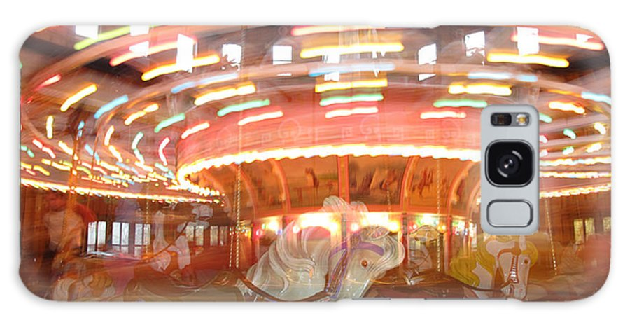 Carousel Galaxy S8 Case featuring the photograph As In A Dream by Barbara McDevitt