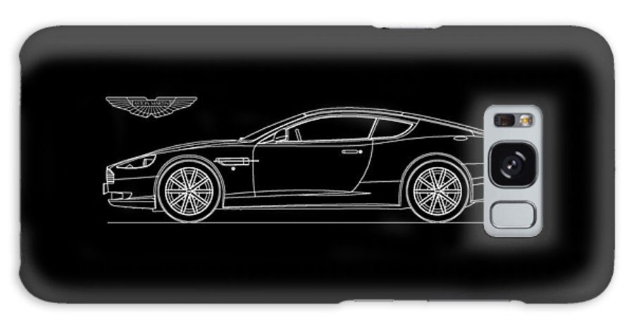 Aston Martin Phone Case Galaxy S8 Case featuring the photograph Aston Martin Db9 Phone Case by Mark Rogan