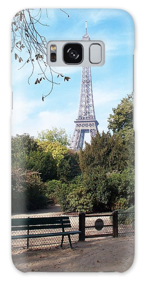 Eiffel Tower Galaxy Case featuring the photograph At Last by Barbara McDevitt