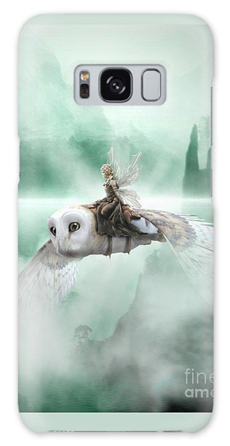 Fairy Galaxy S8 Case featuring the digital art At Top Speed by Babette Van den Berg