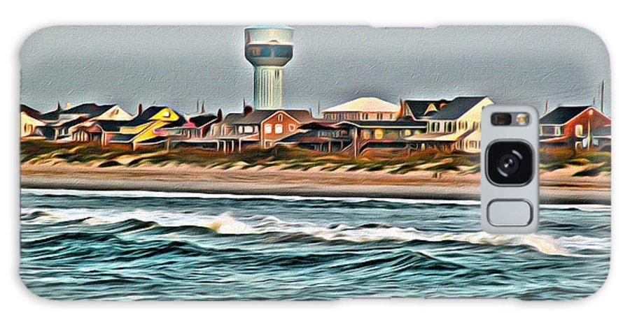 Atlantic Galaxy S8 Case featuring the photograph Atlantic Beach by Scott Hervieux