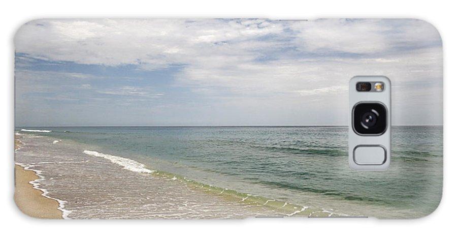 Beach Galaxy S8 Case featuring the photograph Atlantic Ocean Beach V by Zina Stromberg