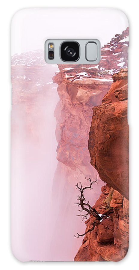 Canyonlands Galaxy S8 Case featuring the photograph Atop Canyonlands by Chad Dutson