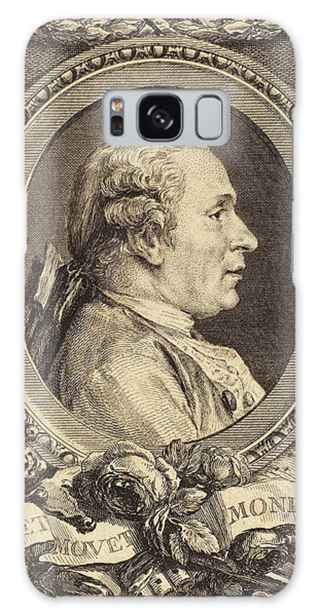 Augustin Galaxy S8 Case featuring the drawing Augustin De Saint-aubin After Charles-nicolas Cochin II by Quint Lox