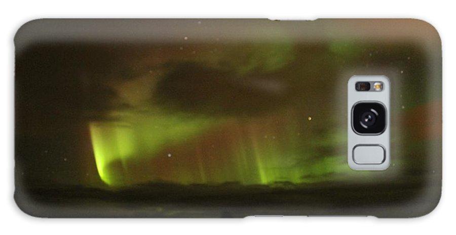 Aurora Borealis Galaxy S8 Case featuring the photograph Aurora Borealis by Charlotte Green