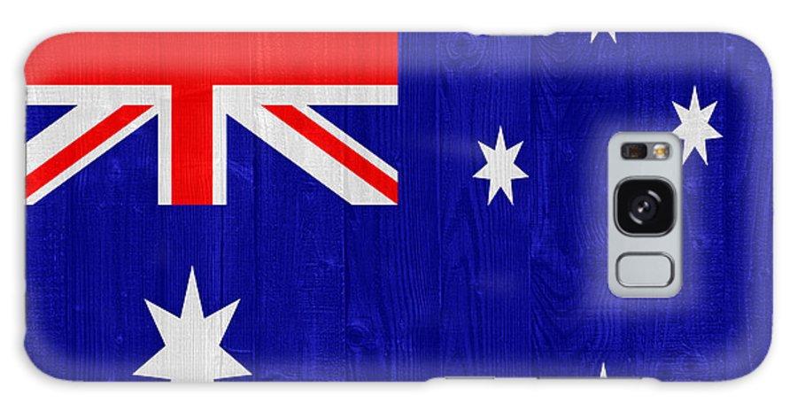 Australia Galaxy S8 Case featuring the photograph Australia Flag by Luis Alvarenga