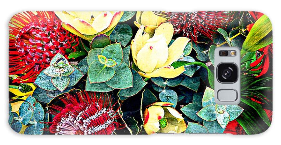 Australian Flowers Galaxy S8 Case featuring the photograph Australian Wild Flowers by Billie-Maree Ward