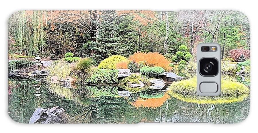 Reflection Galaxy S8 Case featuring the photograph Autumn Lakeside by James Potts