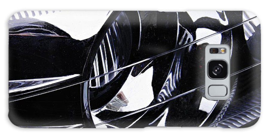 Headlight Galaxy S8 Case featuring the photograph Auto Headlight 155 by Sarah Loft