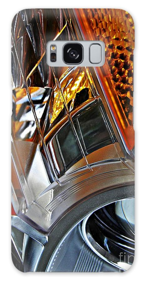 Headlight Galaxy S8 Case featuring the photograph Auto Headlight 52 by Sarah Loft