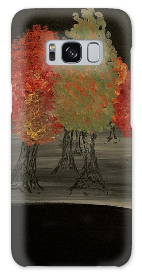 Trees Galaxy S8 Case featuring the painting Autumn by Ashley Irving