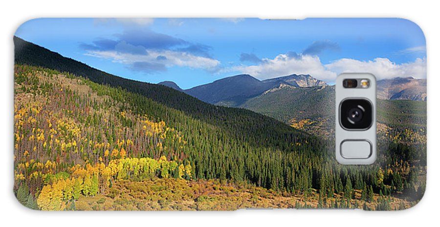 Scenics Galaxy Case featuring the photograph Autumn Color In Colorado Rockies by A L Christensen