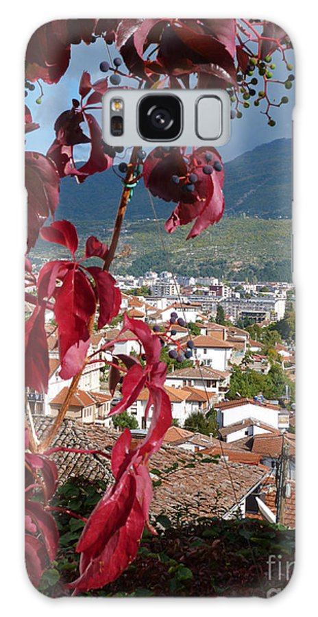 Autumn Galaxy S8 Case featuring the photograph Autumn Colour - Ohrid - Macedonia by Phil Banks