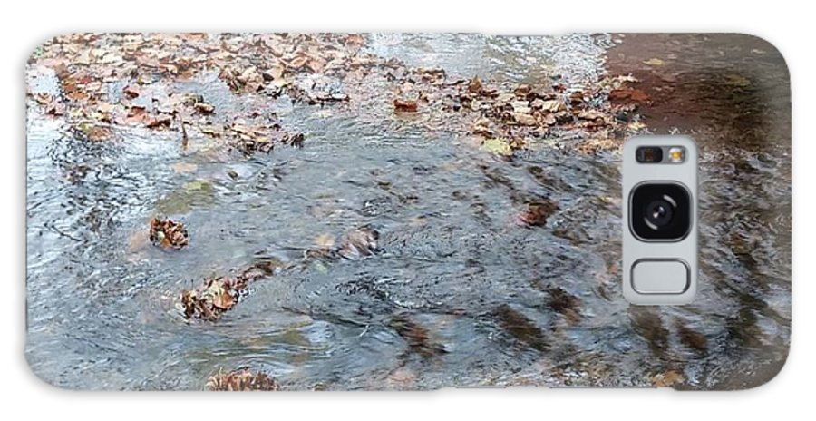 Creek Galaxy S8 Case featuring the photograph Autumn Creek by The Little Owl Gallery