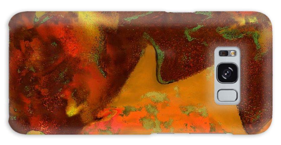 Autumn Galaxy S8 Case featuring the digital art Autumn Crown by Mathilde Vhargon