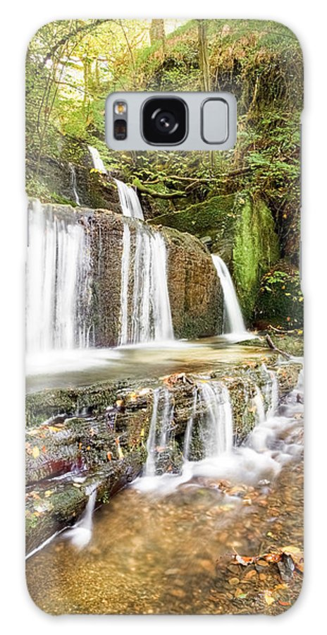 Christinesmart Galaxy S8 Case featuring the photograph Autumn Falls by Christine Smart