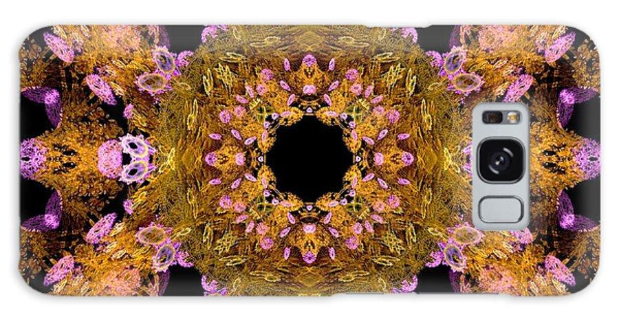 Fractal Galaxy S8 Case featuring the digital art Autumn Fractal by Maurisca Sardju