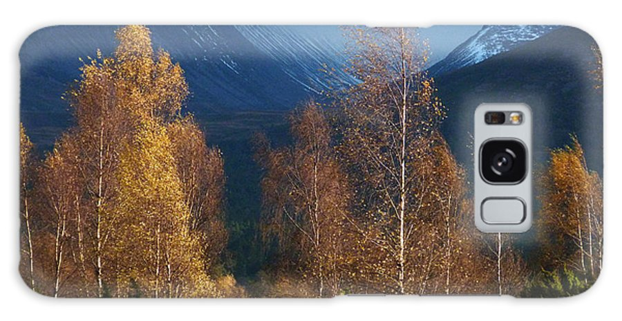 Autumn Galaxy S8 Case featuring the photograph Autumn Into Winter - Cairngorm Mountains by Phil Banks