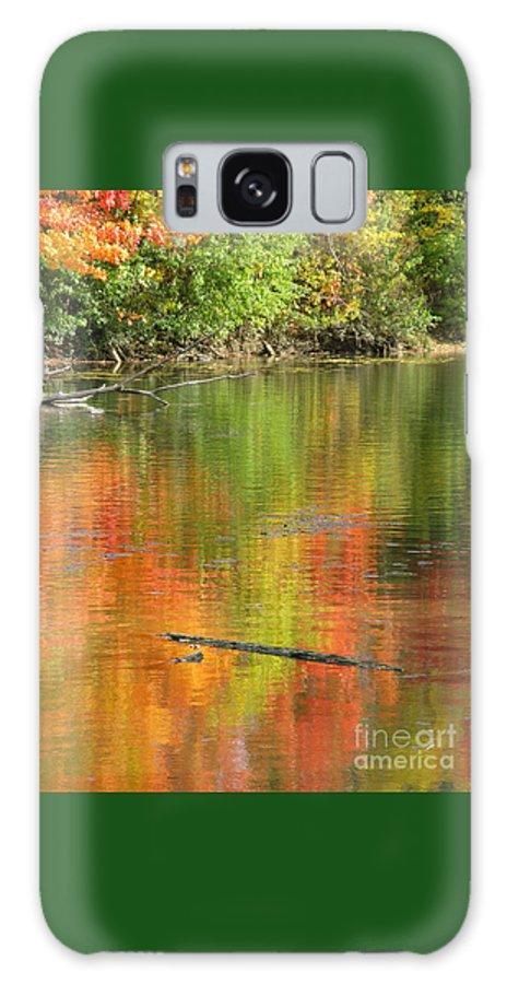 Autumn Galaxy S8 Case featuring the photograph Autumn Jewel by Ann Horn