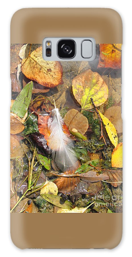 Autumn Galaxy S8 Case featuring the photograph Autumn Leavings by Ann Horn
