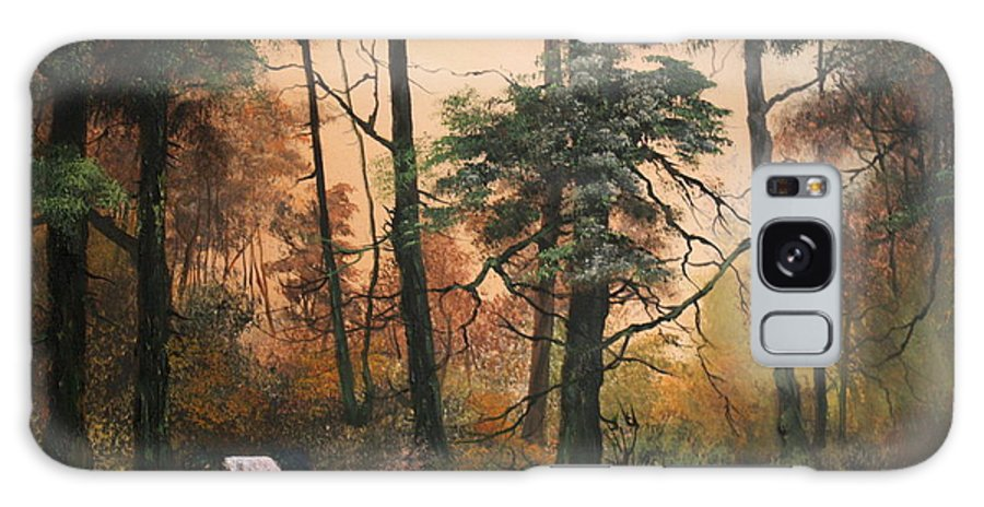 Cannock Chase Galaxy S8 Case featuring the painting Autumn On Cannock Chase by Jean Walker