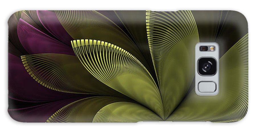 Flower Galaxy S8 Case featuring the digital art Autumn Plant II by Gabiw Art
