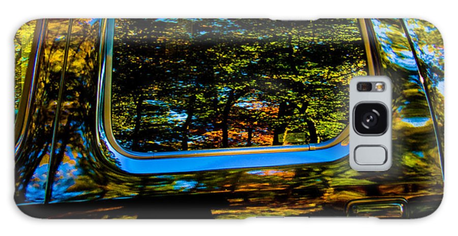 Abstract Galaxy S8 Case featuring the photograph Autumn Reflections 02 by Andy Lawless
