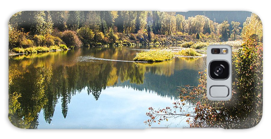 Autumn Galaxy S8 Case featuring the photograph Autumn Reflections by Curtis Stein