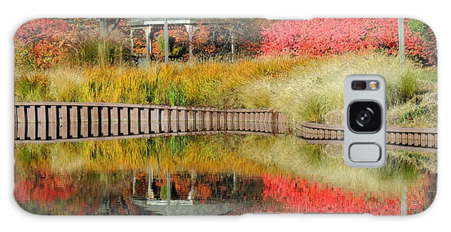 Fall Galaxy S8 Case featuring the photograph Autumn Reflections by Teresa Schomig