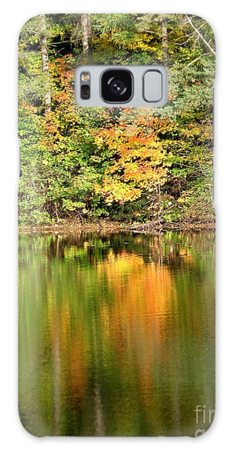 Autumn Galaxy S8 Case featuring the photograph Autumn Watercolor Reflections by Rose Santuci-Sofranko