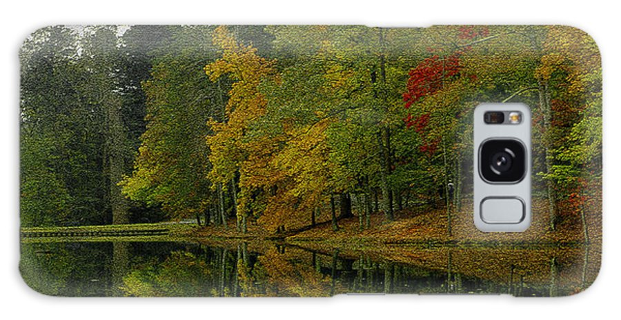 Autumn Galaxy S8 Case featuring the photograph Autumns Reflection by James C Thomas