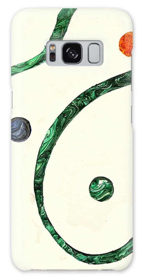 Expressionism Galaxy S8 Case featuring the painting Aw No Aw 1 by Antonio Wehrli
