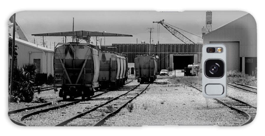 Cargo Galaxy S8 Case featuring the photograph Awaiting Cargo by Jon Cody