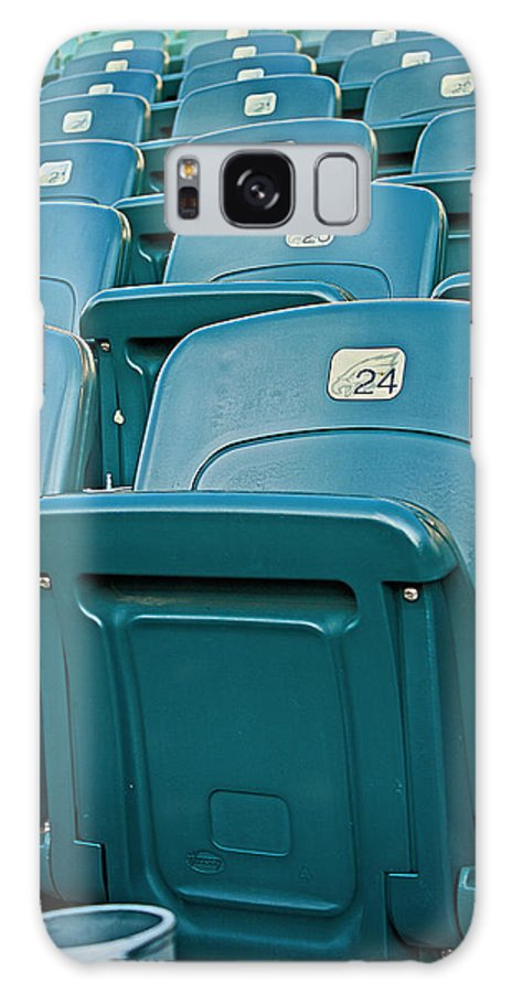 Stadium Galaxy S8 Case featuring the photograph Awaiting The Crowds by Michael Porchik