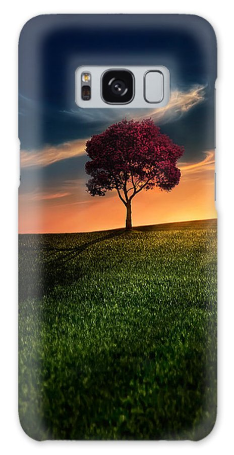 Agriculture Galaxy S8 Case featuring the photograph Awesome Solitude by Bess Hamiti
