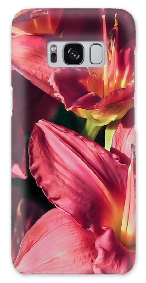Flowers Galaxy S8 Case featuring the photograph Azalea Riot by Robert Mitchell