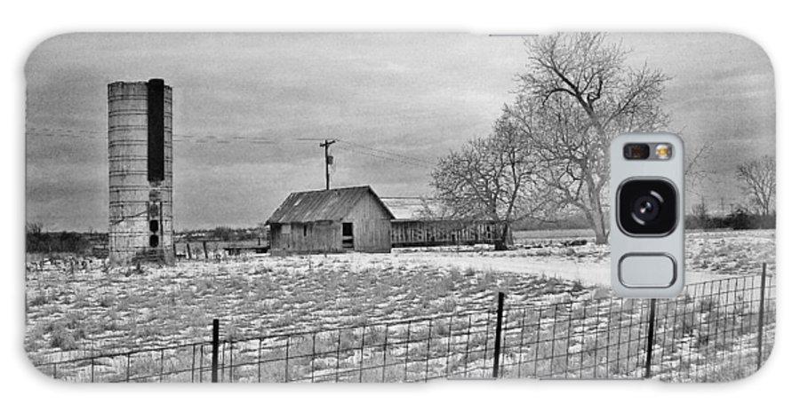 Farm Galaxy S8 Case featuring the photograph B And W Monroe Co. by Daniel Thompson