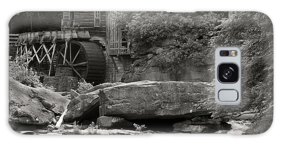 B+w Galaxy S8 Case featuring the photograph Babcock Grist Mill No. 1 by Jerry Fornarotto