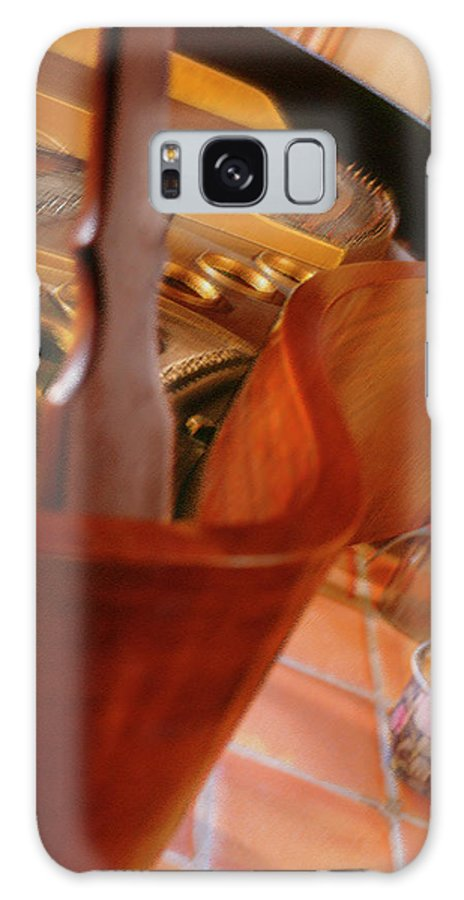 Grand Piano Galaxy S8 Case featuring the photograph Baby Grand by Mike McGlothlen