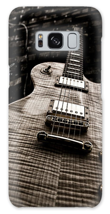 Guitar Galaxy S8 Case featuring the photograph Back Alley Blues by Allen Gresham