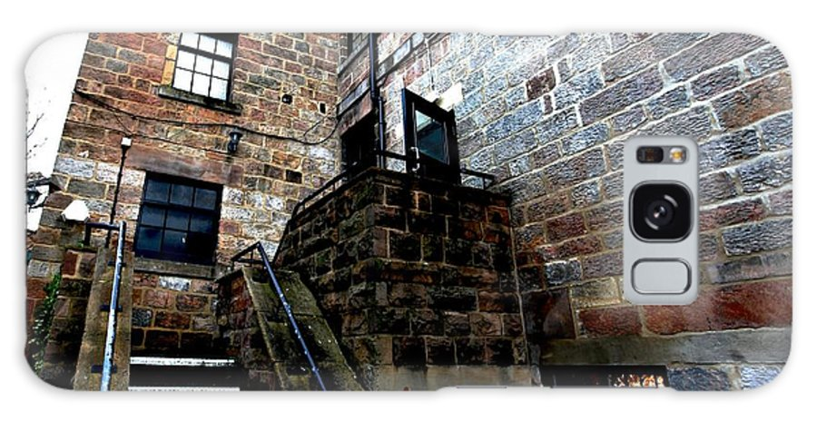 Harrogate Galaxy S8 Case featuring the photograph Back Stairs Cool by Dwight Pinkley
