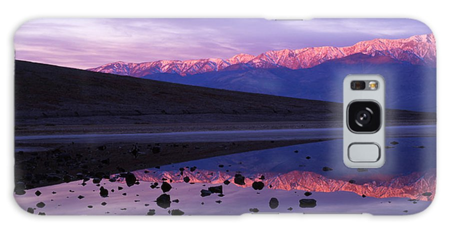 America Galaxy S8 Case featuring the photograph Badwater Death Valley by Mark Sunderland