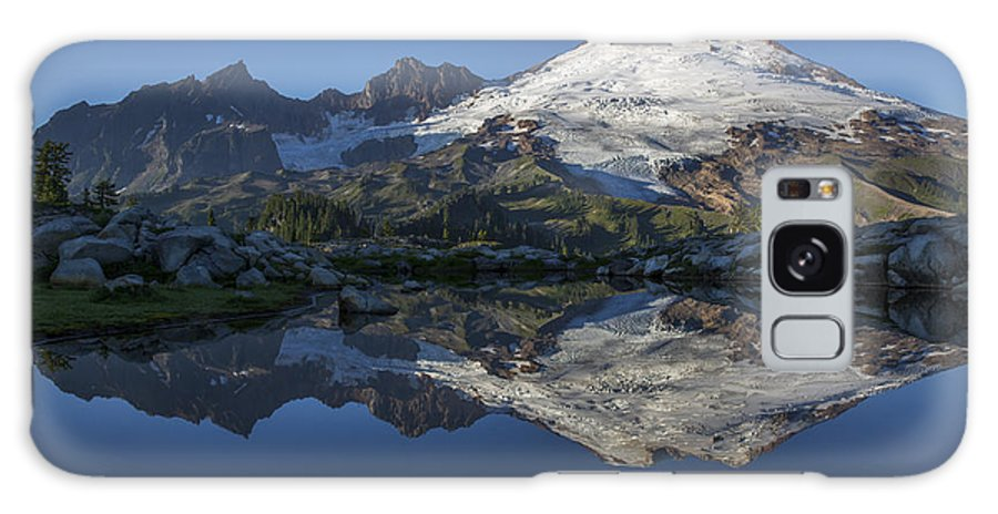 Cascades Galaxy S8 Case featuring the photograph Baker Reflections by Ross Murphy