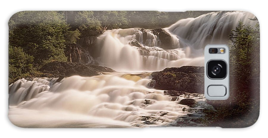 Waterfalls Galaxy S8 Case featuring the photograph Bakers Brook Falls by Eunice Gibb