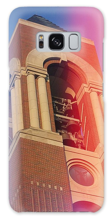 Bell Tower Galaxy S8 Case featuring the photograph Ball State Bell Tower by Brett Beaver