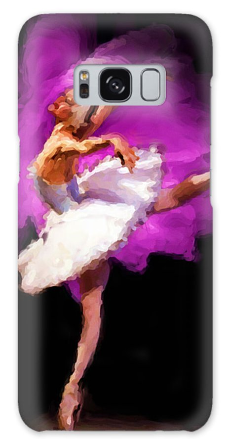 Ballerina Galaxy S8 Case featuring the painting Ballerina by Shawn Abel
