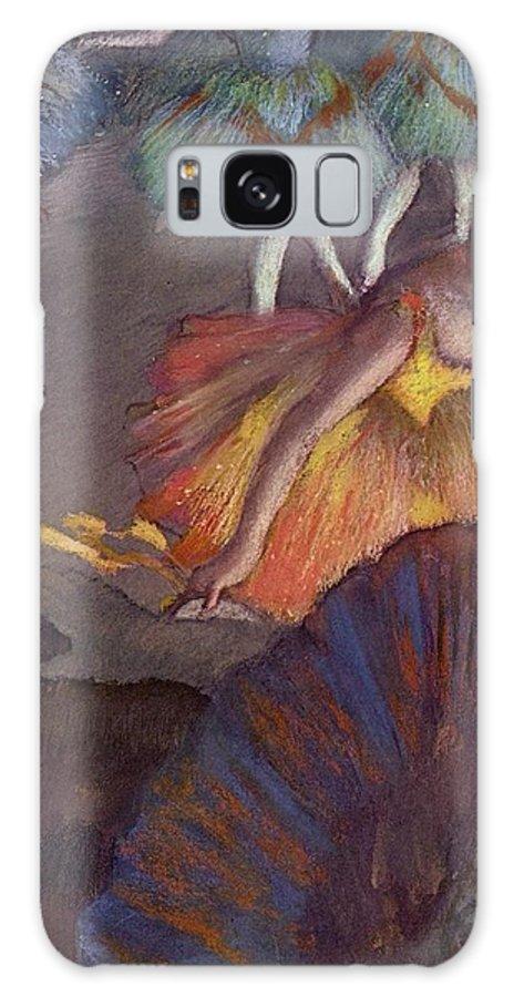 Edgar Degas Galaxy S8 Case featuring the digital art Ballet by Edgar Degas