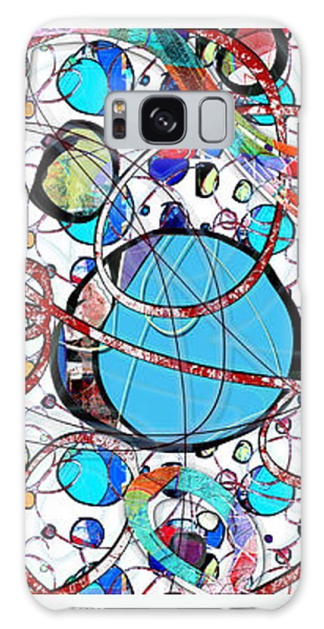 Abstract Galaxy S8 Case featuring the digital art Balloons In Heaven by Gabrielle Schertz